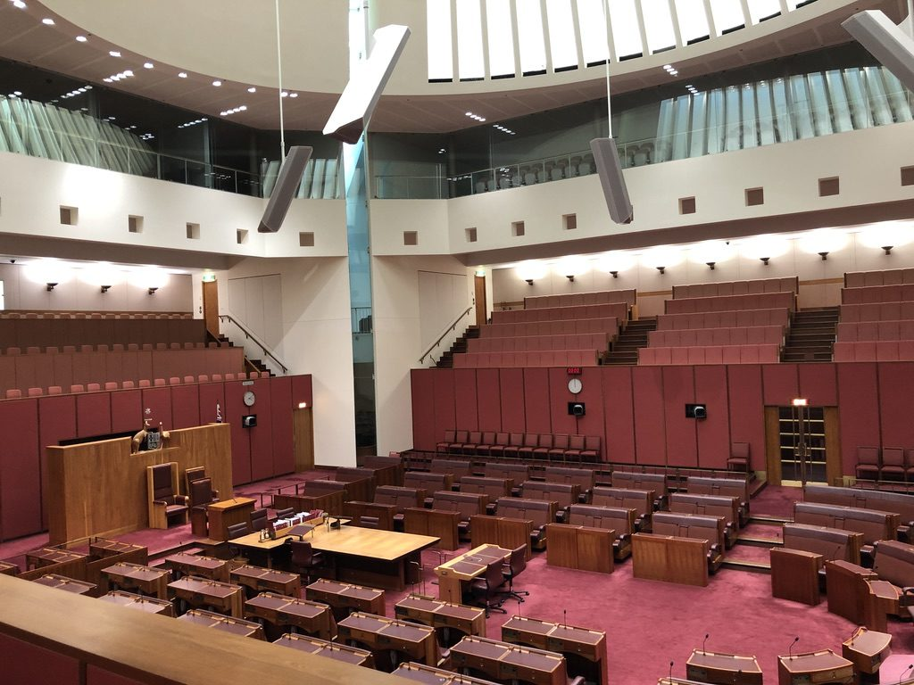 Canberra Parliament Upper House
