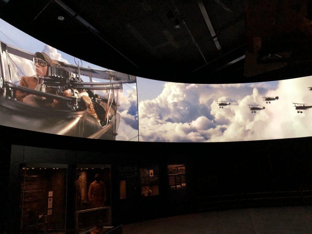 Canberra War Memorial Museum Screen